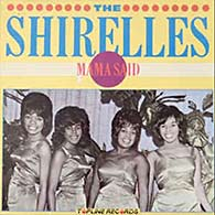 Mama Said by the Shirelles single cover