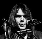 rock artist Neil Young