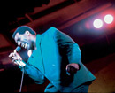 Otis Redding On stage at Monterey