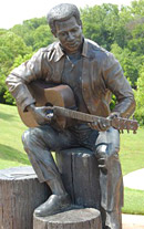 Otis Redding bronze statue