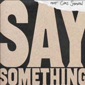 Say Something single cover