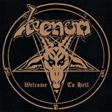 Venom - Welcome to Hell album cover